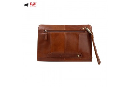 RAV DESIGN MEN 100% LEATHER CLUTCH |RVS437G1