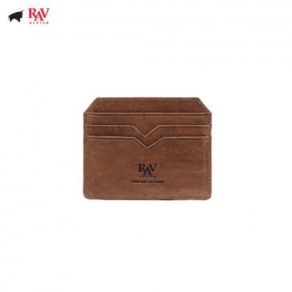 RAV DESIGN 100% LEATHER CARD HOLDER |RVH442G3