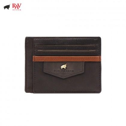RAV DESIGN Leather Men Anti-RFID Card Holder |RVW560G3(D)
