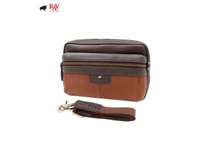 RAV DESIGN ANTI RFID LEATHER CASUAL BAG |RVC438G2