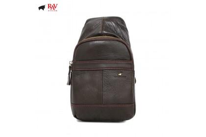 RAV DESIGN LEATHER SLING BAG CROSSBODY BAG |RVC442G2