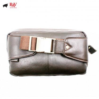 RAV DESIGN LEATHER SLING BAG CROSSBODY BAG |RVC442G1