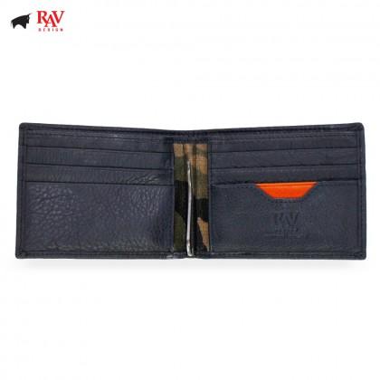RAV DESIGN Leather Men Anti-RFID Money Clipper |RVW559G1(D)
