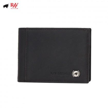 RAV DESIGN Leather Men Anti-RFID Money Clipper |RVM598G1
