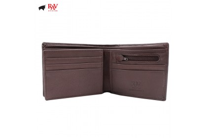 RAV DESIGN Leather Men Short Wallet with Coin Pocket |RVW603G1(A)