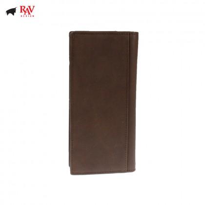 Rav Design Men Genuine Leather Long Wallet |RVW621G2(C)