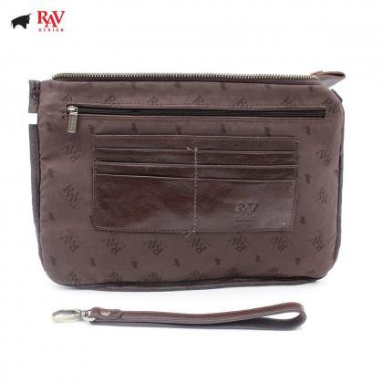 RAV DESIGN 100% Genuine Leather Clutch Bag |RVS460G1