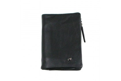 RAV DESIGN 's Men Wallet With Detachable Coin Pouch Genuine Leather  RVW653G1